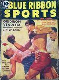 Blue Ribbon Sports (1937-1940 Columbia Publications) Pulp Vol. 1 #6