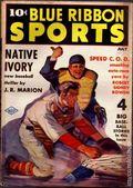 Blue Ribbon Sports (1937-1940 Columbia Publications) Pulp Vol. 2 #3