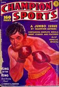 Champion Sports (1937-1939 Periodical House) Pulp Vol. 1 #1