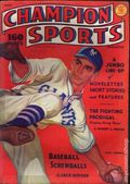 Champion Sports (1937-1939 Periodical House) Pulp Vol. 1 #2