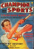 Champion Sports (1937-1939 Periodical House) Pulp Vol. 1 #4