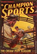 Champion Sports (1937-1939 Periodical House) Pulp Vol. 4 #1