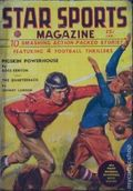 Star Sports Magazine (1936-1938 Western Fiction) Pulp Vol. 2 #1