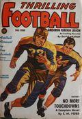 Thrilling Football (1939-1952 Standard) Pulp Vol. 2 #1