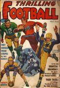 Thrilling Football (1939-1952 Standard) Pulp Vol. 4 #2