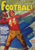 Thrilling Football (1939-1952 Standard) Pulp Vol. 4 #3