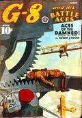G-8 and His Battle Aces (1933-1944 Popular Publications) Pulp Vol. 15 #3