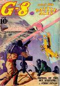 G-8 and His Battle Aces (1933-1944 Popular Publications) Pulp Vol. 15 #4