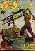 G-8 and His Battle Aces (1933-1944 Popular Publications) Pulp Vol. 17 #1