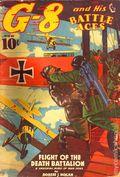 G-8 and His Battle Aces (1933-1944 Popular Publications) Pulp Vol. 18 #1