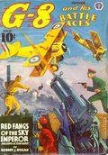 G-8 and His Battle Aces (1933-1944 Popular Publications) Pulp Vol. 19 #2