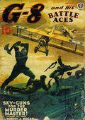 G-8 and His Battle Aces (1933-1944 Popular Publications) Pulp Vol. 19 #4
