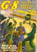 G-8 and His Battle Aces (1933-1944 Popular Publications) Pulp Vol. 20 #3