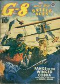 G-8 and His Battle Aces (1933-1944 Popular Publications) Pulp Vol. 20 #4
