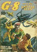 G-8 and His Battle Aces (1933-1944 Popular Publications) Pulp Vol. 22 #4