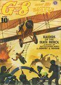 G-8 and His Battle Aces (1933-1944 Popular Publications) Pulp Vol. 25 #1
