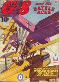 G-8 and His Battle Aces (1933-1944 Popular Publications) Pulp Vol. 27 #1