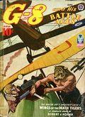 G-8 and His Battle Aces (1933-1944 Popular Publications) Pulp Vol. 28 #2