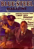 Blue Steel Magazine (1932 Popular Publications) Pulp Vol. 1 #4