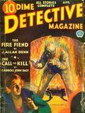 Dime Detective Magazine (1931-1953 Popular Publications) Pulp Apr 1932