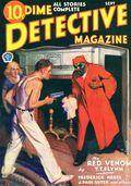 Dime Detective Magazine (1931-1953 Popular Publications) Pulp Sep 1932