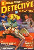Dime Detective Magazine (1931-1953 Popular Publications) Pulp Oct 1932