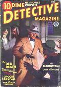 Dime Detective Magazine (1931-1953 Popular Publications) Pulp Nov 1932