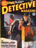 Dime Detective Magazine (1931-1953 Popular Publications) Pulp Feb 1933