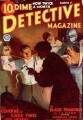 Dime Detective Magazine (1931-1953 Popular Publications) Pulp Mar 1 1933