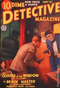 Dime Detective Magazine (1931-1953 Popular Publications) Pulp May 15 1933