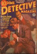Dime Detective Magazine (1931-1953 Popular Publications) Pulp Aug 15 1933