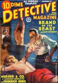 Dime Detective Magazine (1931-1953 Popular Publications) Pulp Sep 15 1933