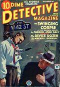 Dime Detective Magazine (1931-1953 Popular Publications) Pulp Dec 15 1933