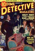 Dime Detective Magazine (1931-1953 Popular Publications) Pulp Aug 15 1934