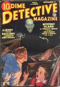 Dime Detective Magazine (1931-1953 Popular Publications) Pulp Nov 1 1934