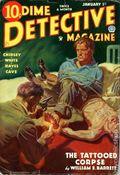Dime Detective Magazine (1931-1953 Popular Publications) Pulp Jan 1 1935