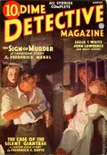 Dime Detective Magazine (1931-1953 Popular Publications) Pulp Mar 1936