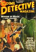 Dime Detective Magazine (1931-1953 Popular Publications) Pulp May 1936
