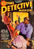 Dime Detective Magazine (1931-1953 Popular Publications) Pulp Sep 1936