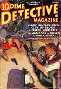 Dime Detective Magazine (1931-1953 Popular Publications) Pulp Oct 1936