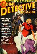 Dime Detective Magazine (1931-1953 Popular Publications) Pulp Nov 1936
