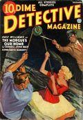Dime Detective Magazine (1931-1953 Popular Publications) Pulp Dec 1936