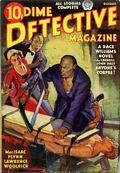 Dime Detective Magazine (1931-1953 Popular Publications) Pulp Oct 1937