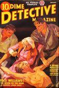 Dime Detective Magazine (1931-1953 Popular Publications) Pulp Jan 1938