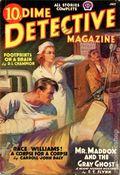 Dime Detective Magazine (1931-1953 Popular Publications) Pulp Jul 1938