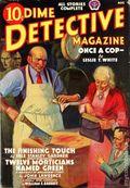 Dime Detective Magazine (1931-1953 Popular Publications) Pulp Aug 1938