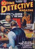 Dime Detective Magazine (1931-1953 Popular Publications) Pulp Sep 1938