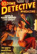 Dime Detective Magazine (1931-1953 Popular Publications) Pulp Nov 1938