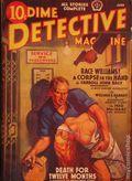 Dime Detective Magazine (1931-1953 Popular Publications) Pulp Jun 1939