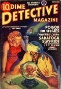 Dime Detective Magazine (1931-1953 Popular Publications) Pulp Sep 1939
